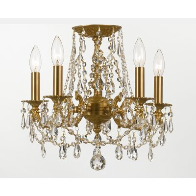Mirabella 5 Light Crystal Chandelier
