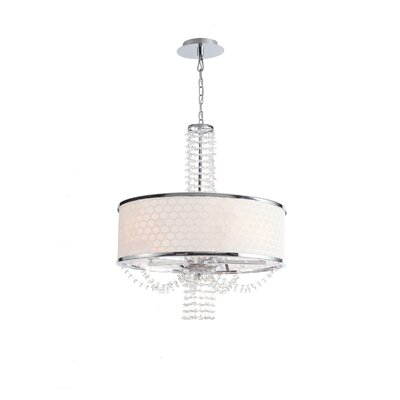 Crystorama Allure 5 Light Mini Chandelier