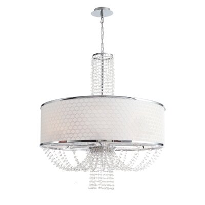 Crystorama Allure 8 Light Chandelier