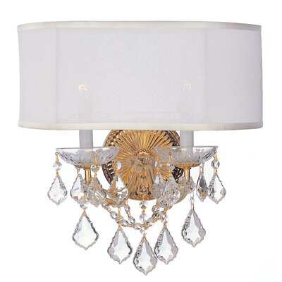 Crystorama Brentwood 2 Light Wall Sconce