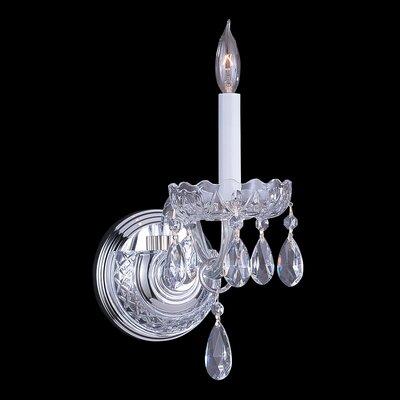 Bohemian Crystal Wall Lights : Bohemian Crystal 1 Light Candle Wall Sconce Wayfair