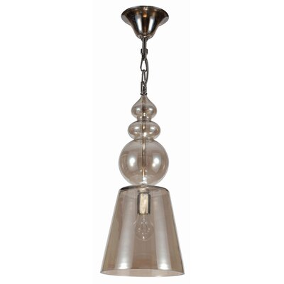 Crystorama Harper 1 Light Foyer Pendant