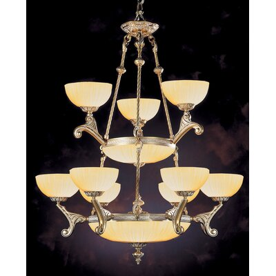Crystorama Hot Deal 9 Light Chandelier