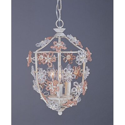 Crystorama Paris Flea 3 Light Foyer Pendant