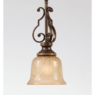 Crystorama Norwalk 1 Light Pendant