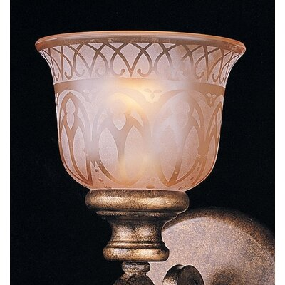 Crystorama Norwalk 1 Light Wall Sconce