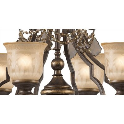 Crystorama Norwalk 6 Light Chandelier