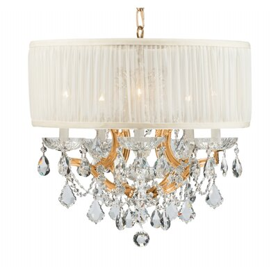 Crystorama Brentwood 5 Light Chandelier