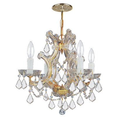 Crystorama Maria Theresa 4 Light Chandelier