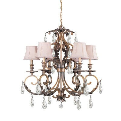 Royal 6 Light Chandelier