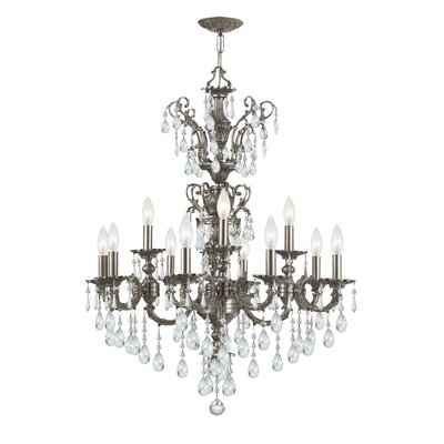 Crystorama Mirabella 12 Light Chandelier