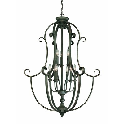 Jeremiah Barret Place 9 Light Foyer Pendant