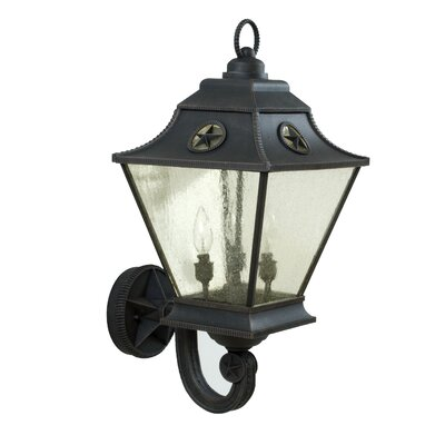Jeremiah Chaparral 3 Light Outdoor Wall Sconce