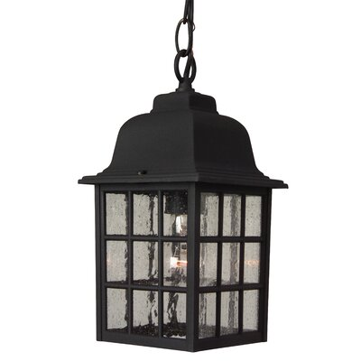Jeremiah Grid Cage 1 Light Pendant