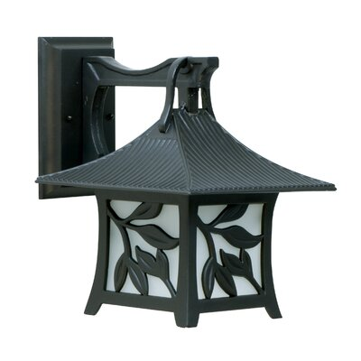Jeremiah Mandalay 1 Light Medium Outdoor Wall Lantern
