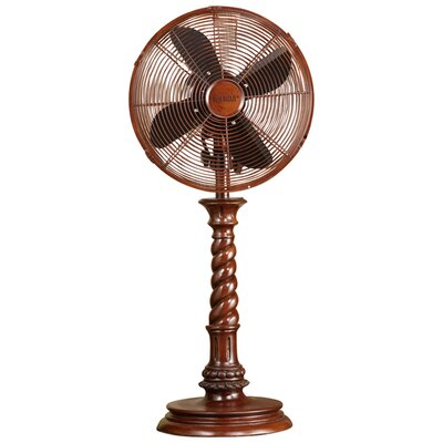 Deco Breeze Raleigh Decorative Table Top Fan