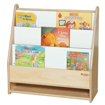 Wood Designs Toddler Bookshelf