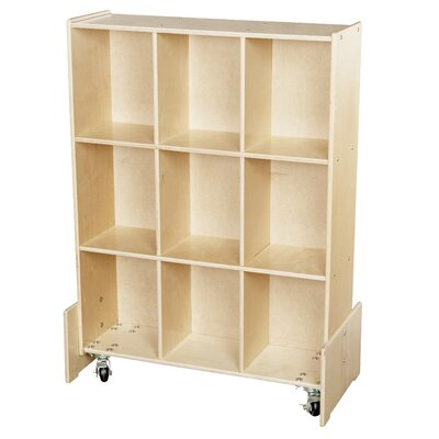 Wood Designs Contender Roll and Write 9 Compartment Cubby