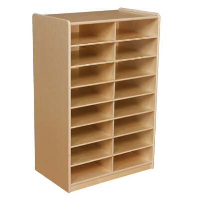 Wood Designs 16 Compartment Cubbly