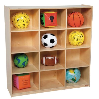 Wood Designs 12 Compartment Cubby
