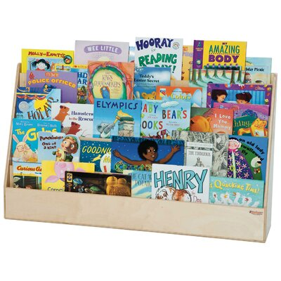 Wood Designs Extra Wide Book Display Stand