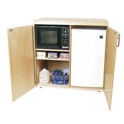 "Wood Designs 42"" Mobile Food Cart"