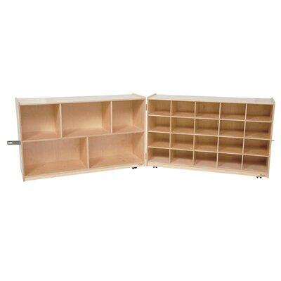 Wood Designs Storage Unit 25 Compartment Cubby