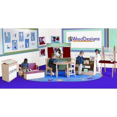 Wood Designs 10 Piece Literacy Package Set