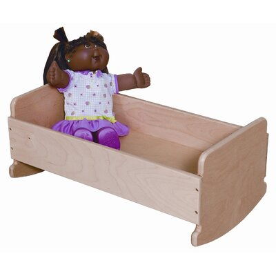 Wood Designs Doll Cradle in Tuff Gloss