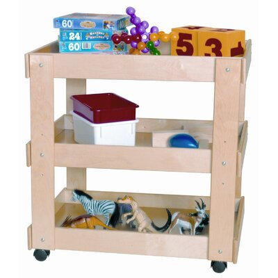 Wood Designs Utility Cart in Tuff Gloss