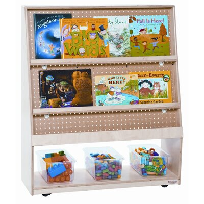 "Wood Designs 42"" Mobile Library in Tuff Gloss"