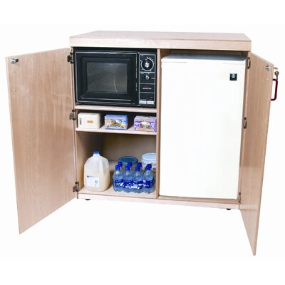 "Wood Designs 42"" Mobile Food Cart"