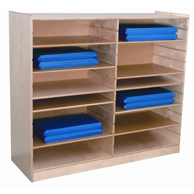 Wood Designs Mat Storage Center