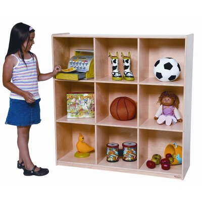 Wood Designs Deep Storage 9 Compartment Cubby