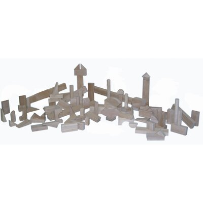 Wood Designs 93 Piece Nursery Block Set