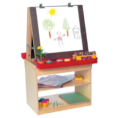 Wood Designs Healthy Kids Art Center For Two