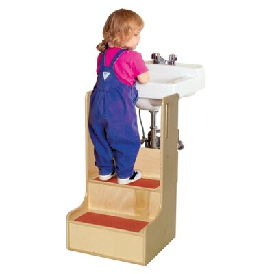 Wood Designs Healthy Kids Step-Up-N-Wash