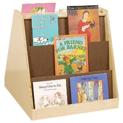 Wood Designs Healthy Kids Tot Size Two-Sided Book Display