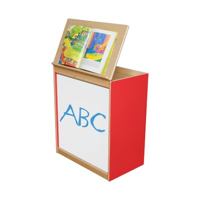 Wood Designs Big Book Display with Markerboard