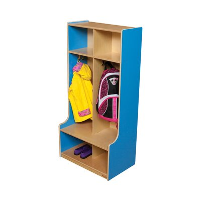 Wood Designs Two Section Offset Locker