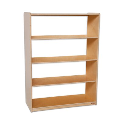 "Wood Designs Natural Environment 48"" Bookshelf"