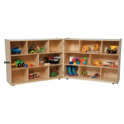 Wood Designs 36&quot; X-Deep Folding Storage Unit