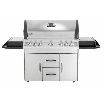 Napoleon Mirage Gas Grill with Infrared Rear and Side Burner