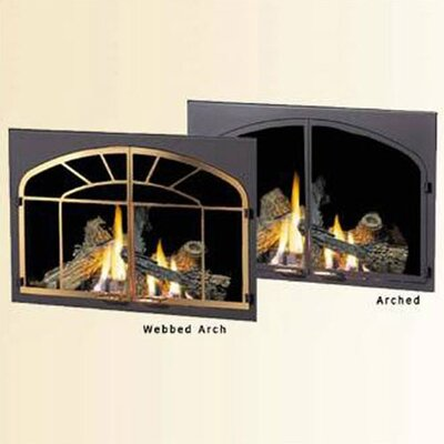 Decorative Fireplace Door Kit
