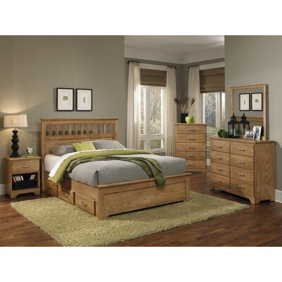 Carolina Furniture Works, Inc. Sterling Queen Panel Bedroom Collection