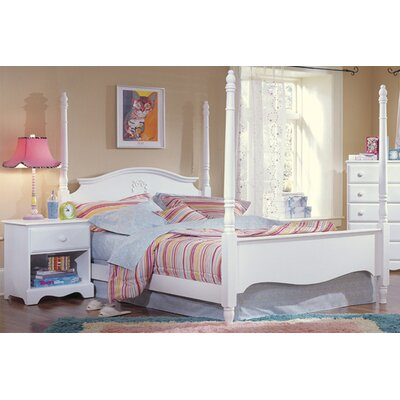Carolina Furniture Works, Inc. Carolina Cottage Princess Four Poster Bedroom Collection