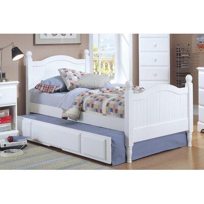 Carolina Cottage Arched Panel Bed