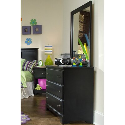 Carolina Furniture Works, Inc. Midnight 3 Drawer Dresser