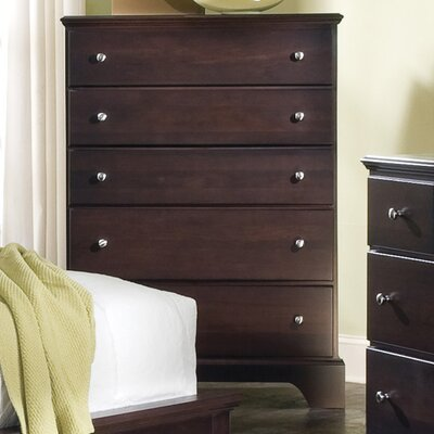 Carolina Furniture Works, Inc. Premier 5 Drawer Chest