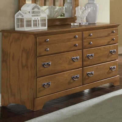 Creek Side 6 Drawer Dresser